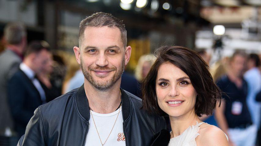 Tom Hardy und Charlotte Riley bei einer Veranstaltung in London, 2018