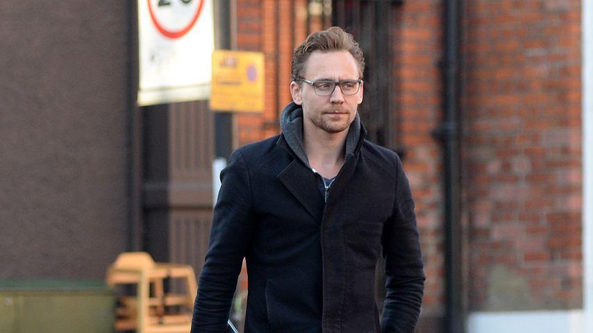 Schauspieler Tom Hiddleston in London