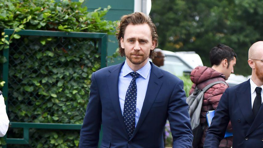 Tom Hiddleston beim Wimbledon-Finale 2019