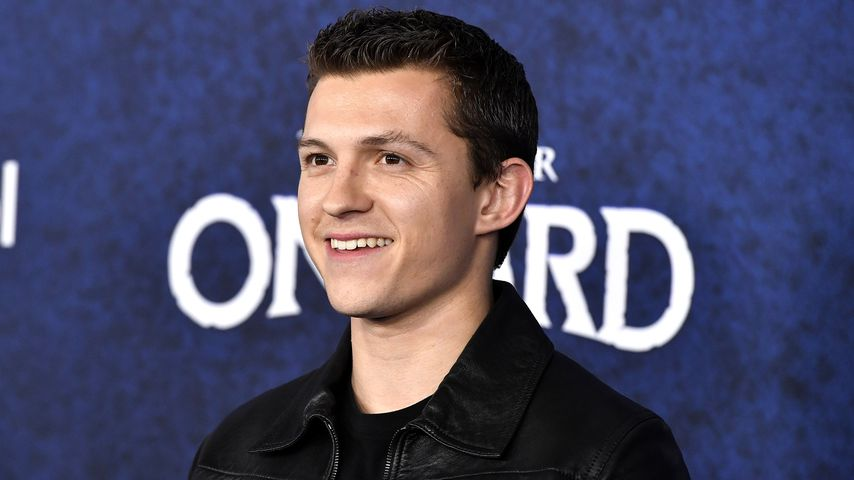 "Tom Holland bei der Premiere von ""Onward"" in Hollywood, Februar 2020"