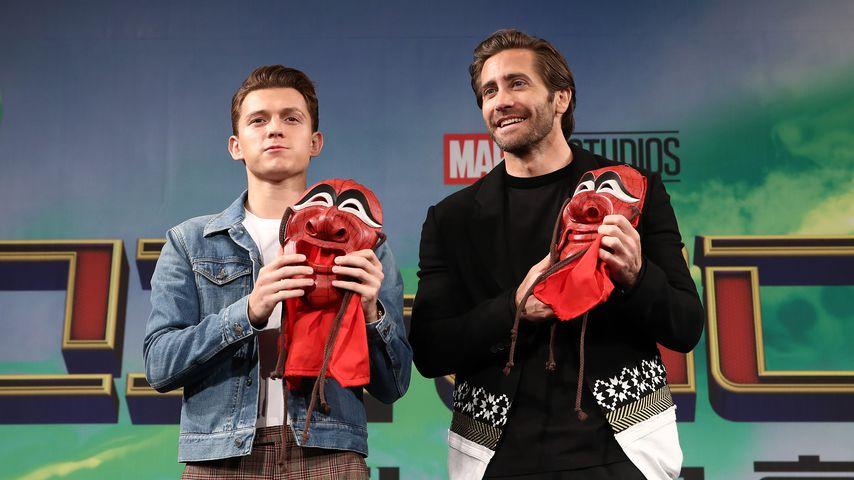 Tom Holland mit Schauspielkollege Jake Gyllenhaal