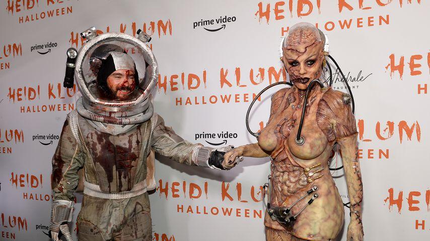Tom Kaulitz und Heidi Klum, Oktober 2019