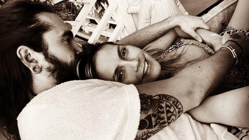 Süß: So verkuschelt ist der Sonntag bei Heidi Klum und Tom