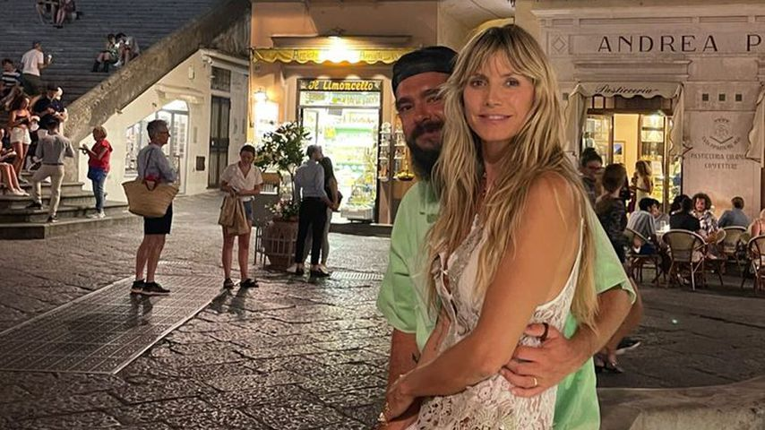 Tom Kaulitz und Heidi Klum im August 2021