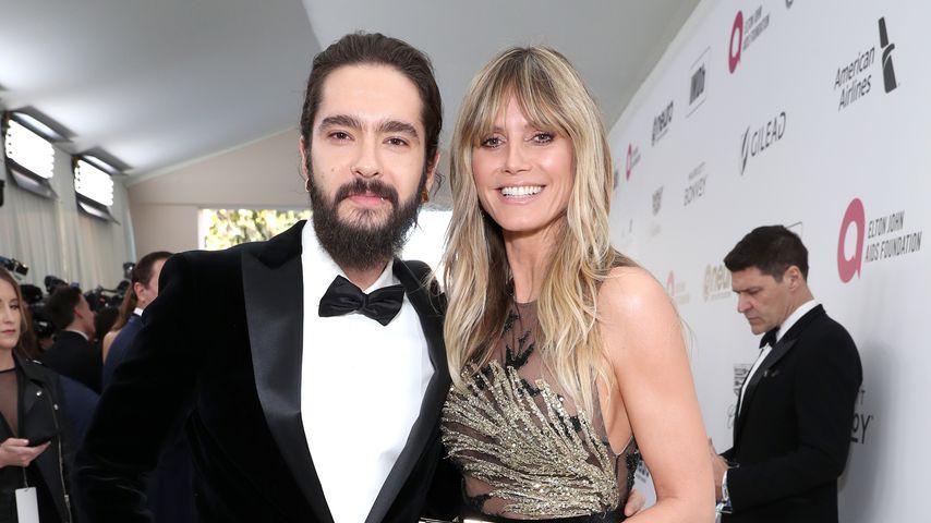 Tom Kaulitz und Heidi Klum im Februar 2019 in Beverly Hills