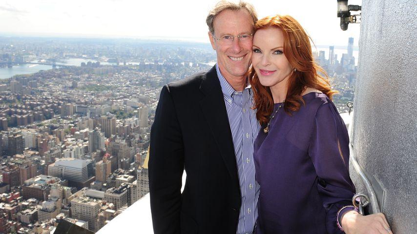 Tom Mahoney und Marcia Cross im Oktober 2012 in New York