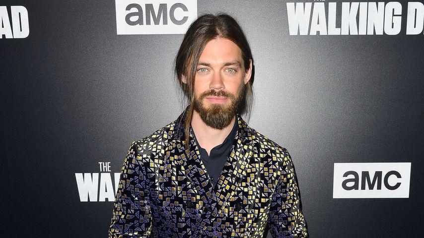 """Tom Payne auf der AMC Premiere zur neunten Staffel von """"The Walking Dead"""", Los Angeles, 2018"""