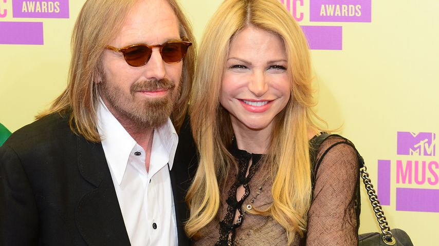 Tom Petty und seine Frau Dana York bei den MTV Video Music Awards in Los Angeles 2012