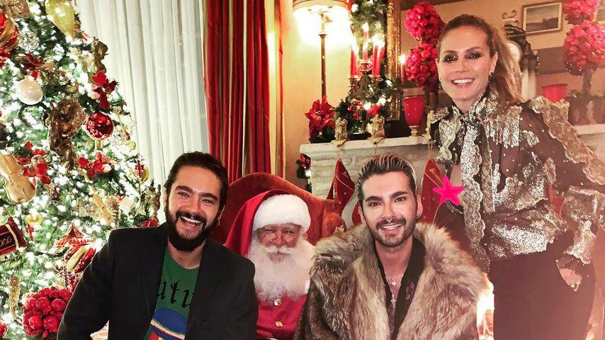 Nippelblitzer: Heidi Klum macht Fans heißes Xmas-Geschenk!
