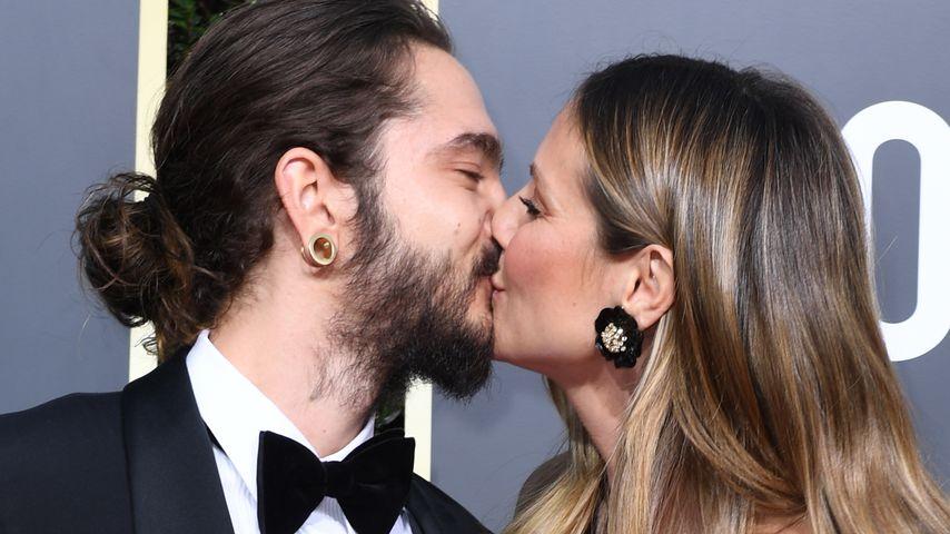 Tom Kaulitz und Heidi Klum bei den Golden Globes 2019