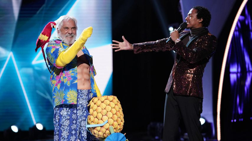 """Tommy Chong und Nick Cannon in """"The Masked Singer"""""""