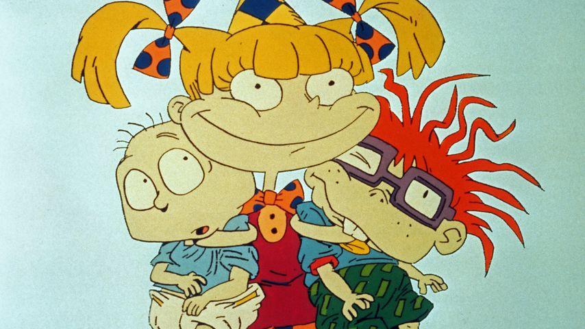 "Tommy Pickles, Angelica Pickles und Chuckie Finster aus ""Rugrats"""