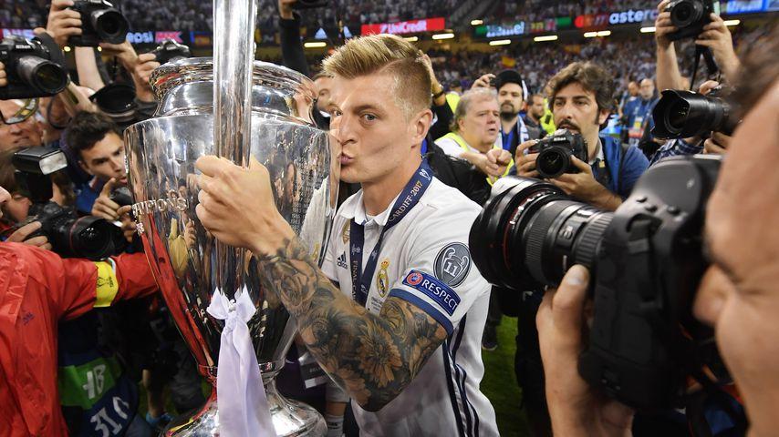 Toni Kroos beim Champions-League-Finale 2017