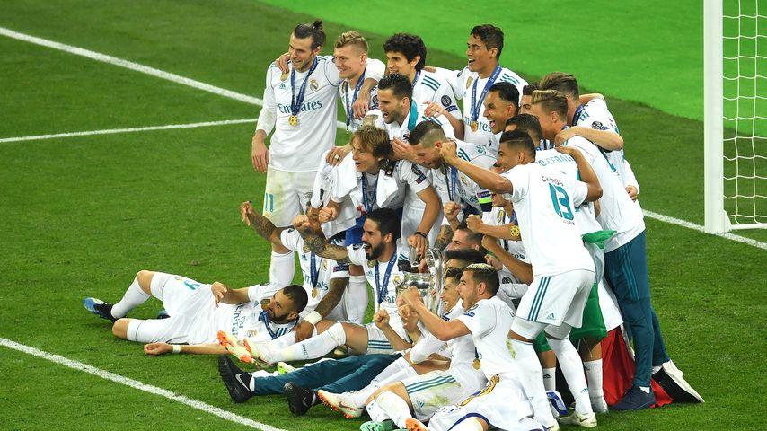 Toni Kroos und seine Mannschaftskollegen von Real Madrid