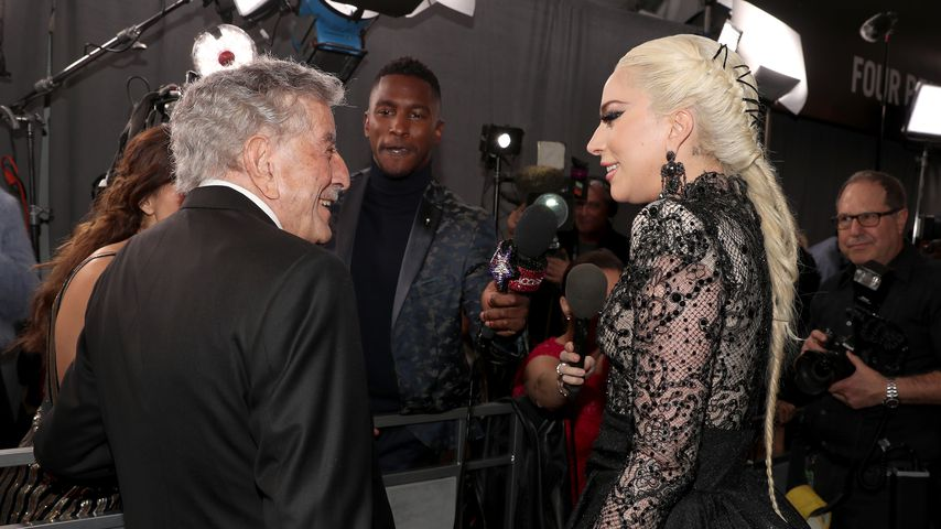 Tony Bennett und Lady Gaga bei den Grammy Awards 2018