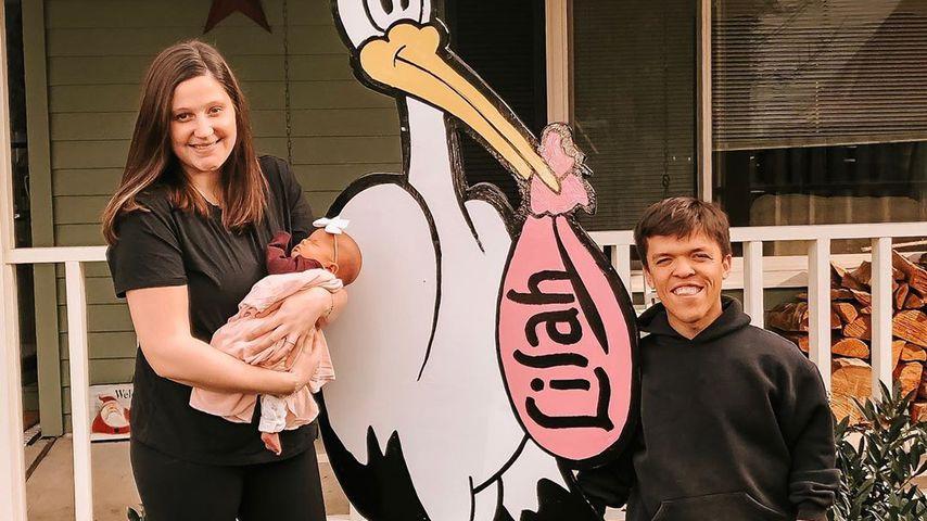 Tori und Zach Roloff und ihre Tochter Lilah