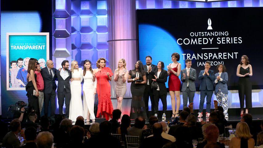"""Transparent""-Cast beim GLAAD-Award 2017"