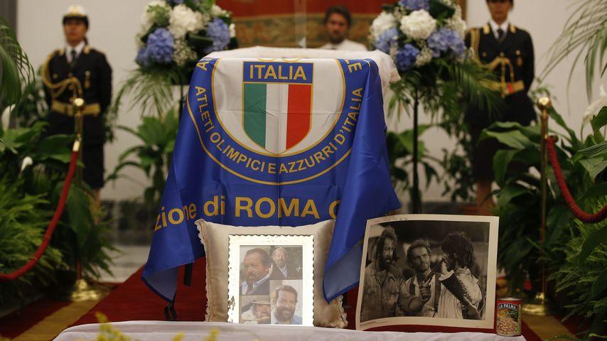 Trauerfeier für den verstorbenen Bud Spencer in Rom