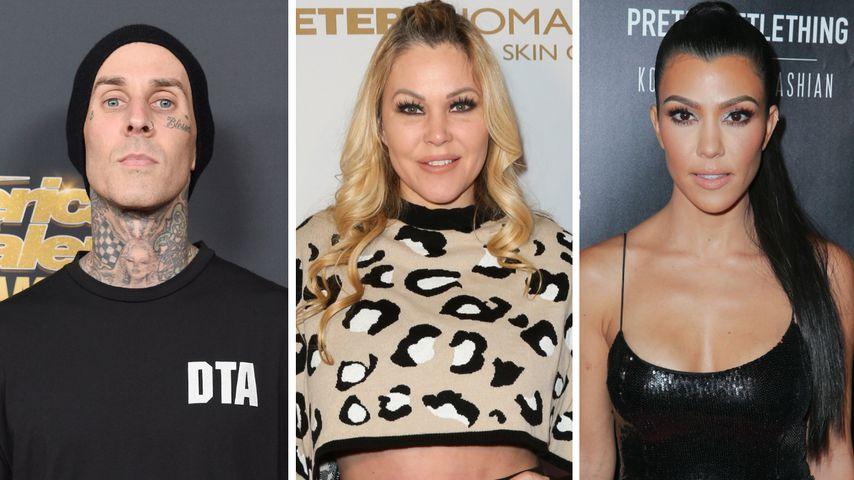 """""""Verschlechtert"""": Travis Barkers Ex Shanna disst Kourtney"""