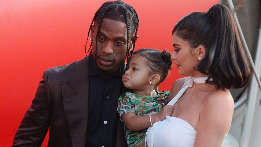Travis Scott, Kylie Jenner und Tochter Stormi Webster
