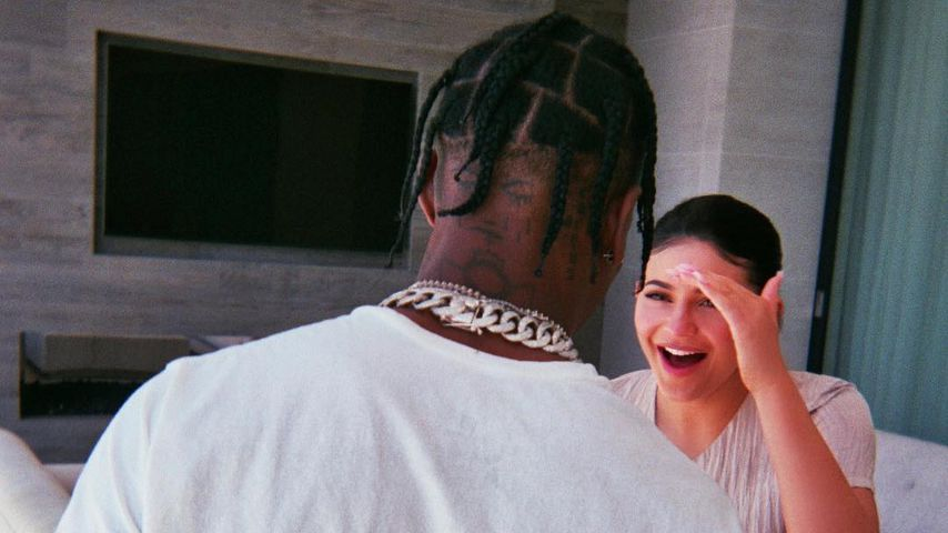 Travis Scott und eine ausgelassene Kylie Jenner