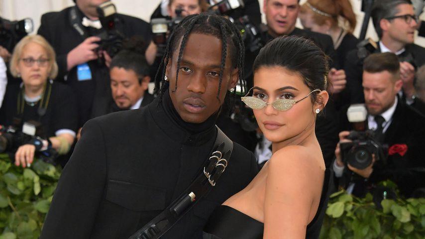 Travis Scott und Kylie Jenner bei der Met Gala 2018