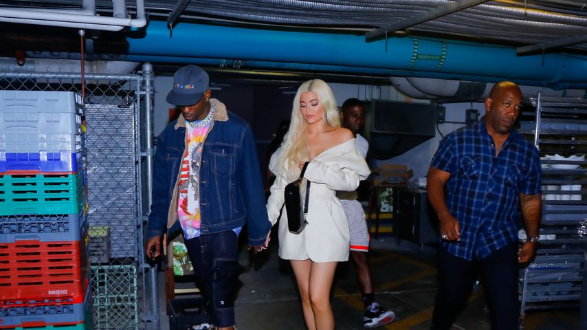 Travis Scott und Kylie Jenner in Miami