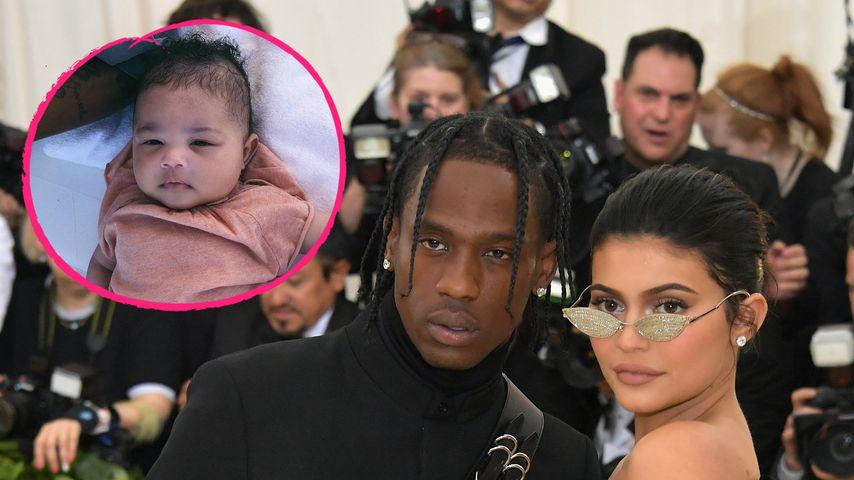 Privat wie nie: Kylie Jenner kuschelnd mit Stromi & Travis!