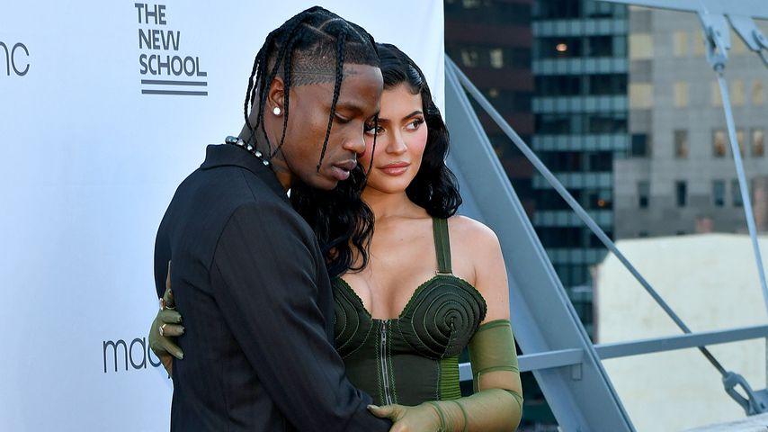 Travis Scott und Kylie Jenner bei einer Benefizveranstaltung in New York