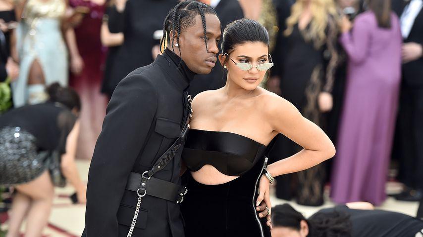 Travis Scott und Kylie Jenner im Mai 2018