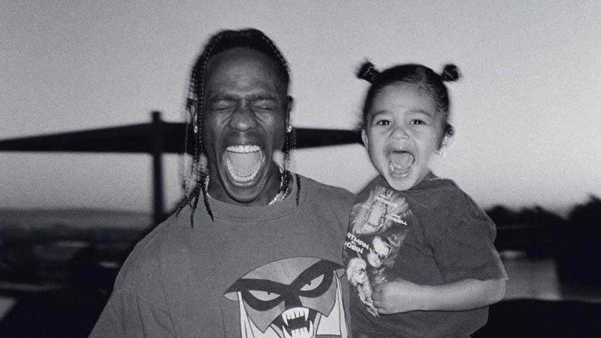 Travis Scott und seine Tochter Stormi