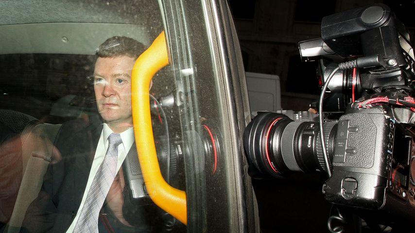 Trevor Rees-Jones bei der Untersuchung der Todesumstände zu Prinzessin Dianas Tod 2008 in London