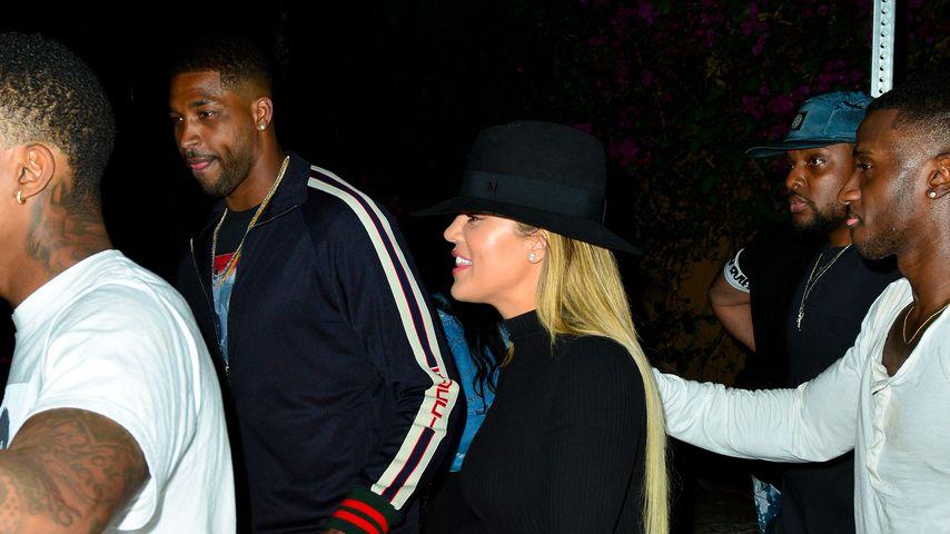 Tristan Thompson mit Khloe Kardashian