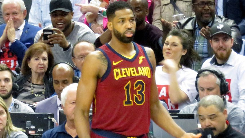 Tristan Thompson spielt für das Basketballteam Cleveland Cavaliers