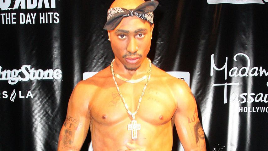 Unheimlich? Tupacs täuschend echte Wachsfigur