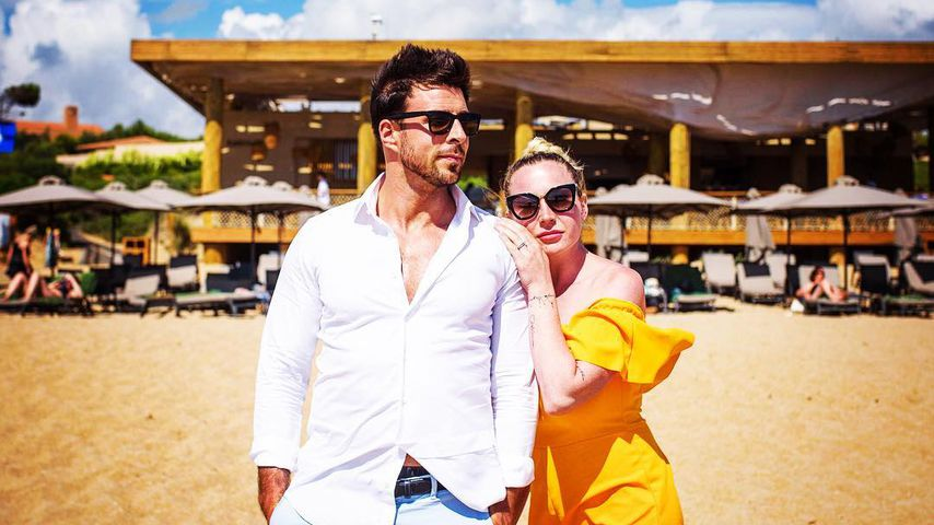 TV-Star Leonard Freier mit Frau Caona