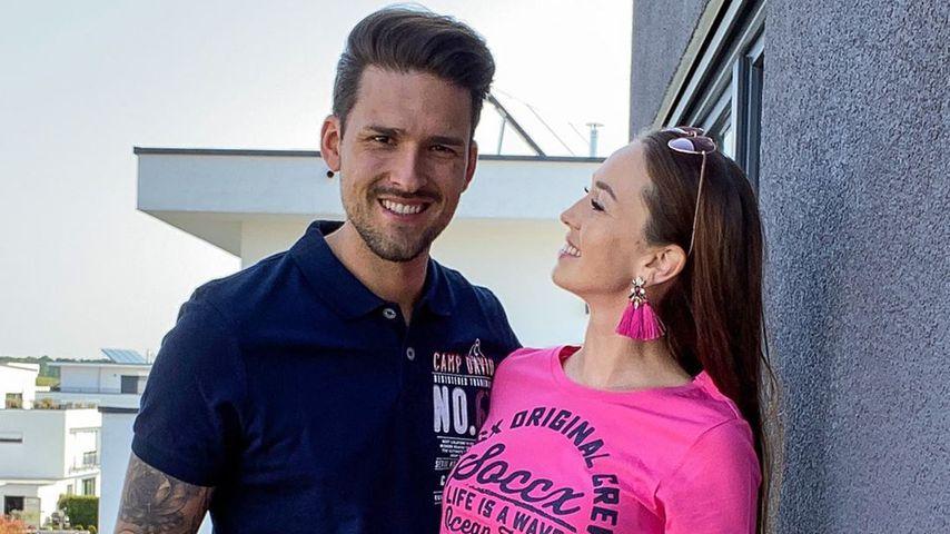 TV-Star Marco Cerullo und Christina Graß im April 2020