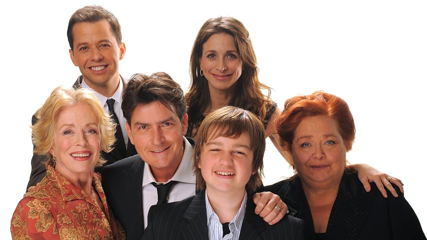 "Der ""Two and a half Men""-Cast 2009"