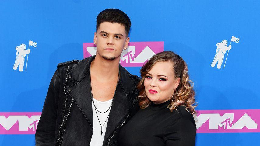 Tyler Baltierra und Catelynn Lowell im August 2018 bei den 2018 MTV Video Music Awards