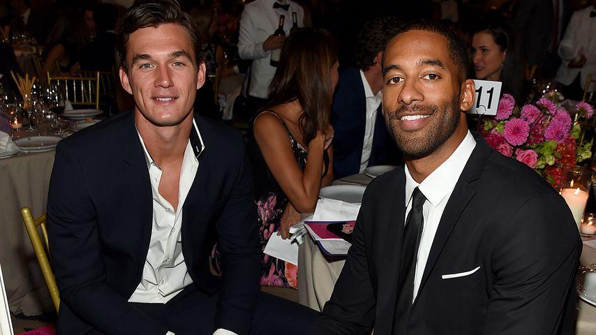 Tyler Cameron und Matt James auf einer Gala in NYC im Oktober 2019
