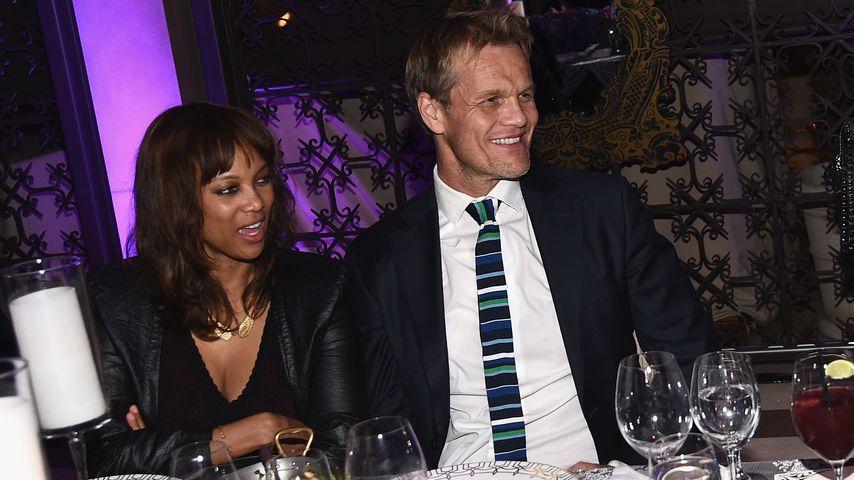 Tyra Banks und Erik Asla bei einem Event in Beverly Hills 2014