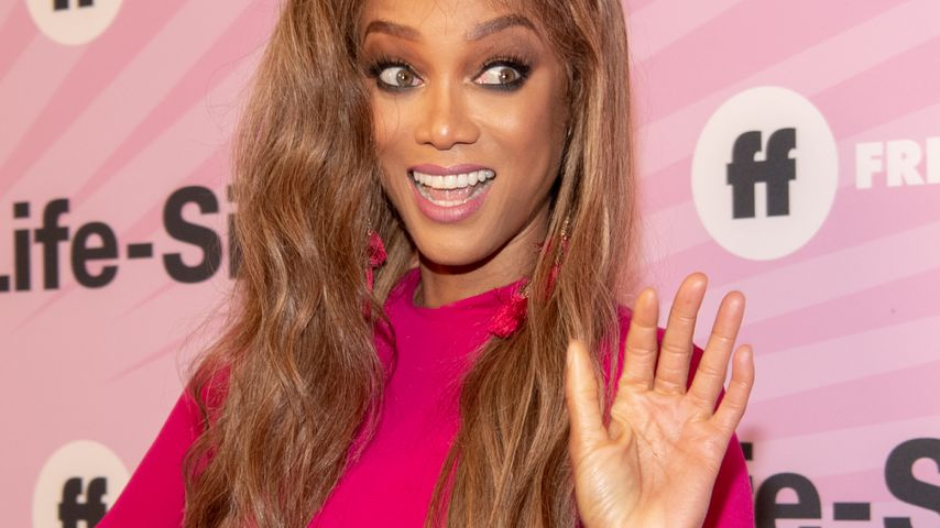 Tyra Banks in Los Angeles