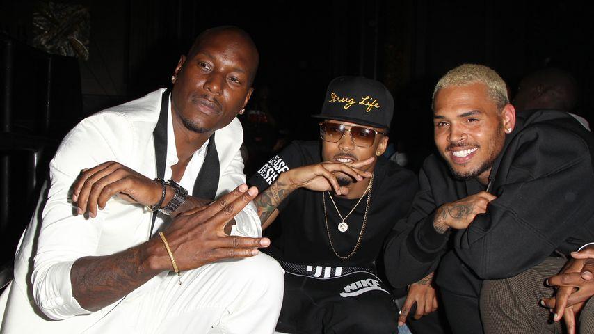 Chris Brown und Tyrese Gibson