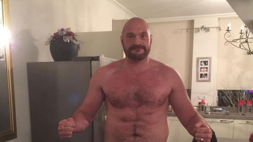 Tyson Fury, ehemaliger Box-Weltmeister
