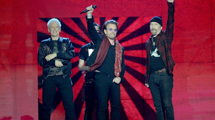 U2 bei den MTV Europe Music Awards 2017
