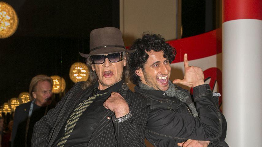 Udo Lindenberg und Serkan Kaya bei einer B.Z.-Party