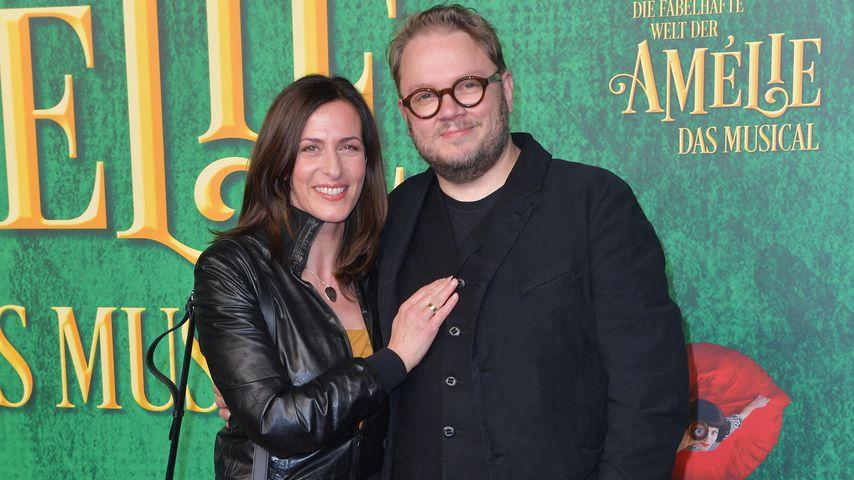 """Ulrike Frank und Marc Schubring bei der Musical-Premiere von """"Die fabelhafte Welt der Amelie"""""""