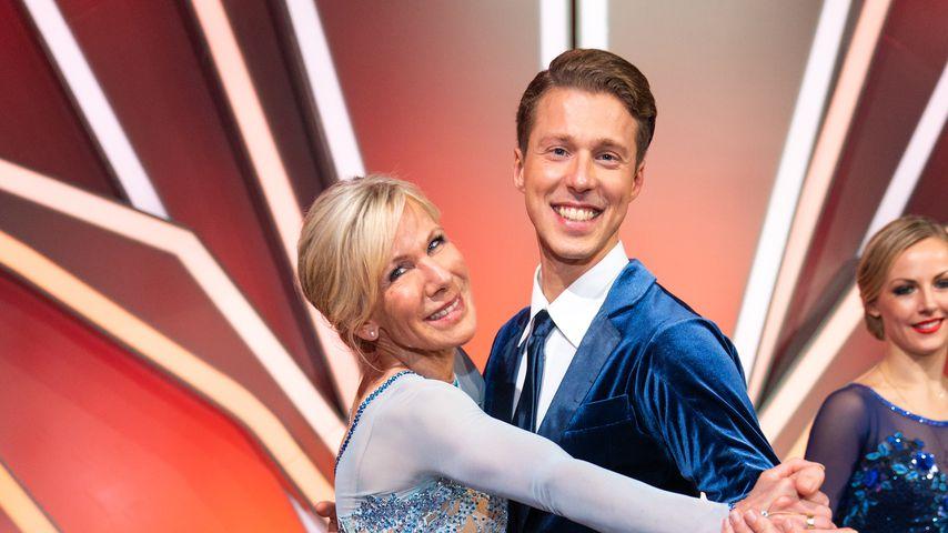 """Ulrike von der Groeben und Valentin Lusin tanzen bei """"Let's Dance"""", Februar 2020"""