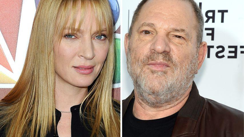 Uma Thurman bricht Schweigen: Fast von Weinstein missbraucht