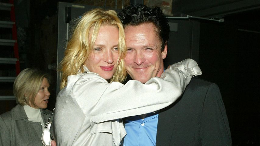 "Uma Thurman und Michael Madsen bei der Premiere zu ""Kill Bill Vol. 2"", April 2004"
